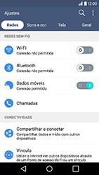 LG K10 - Wi-Fi - Como usar seu aparelho como um roteador de rede wi-fi - Etapa 4