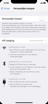Apple iPhone X - WiFi - Mobiele hotspot instellen - Stap 4
