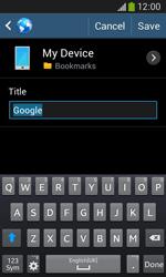 Samsung S7275 Galaxy Ace III - Internet - Internet browsing - Step 7