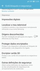 Samsung Galaxy S7 - Segurança - Como ativar o código PIN do cartão de telemóvel -  5