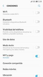 Samsung Galaxy S6 - Android Nougat - Funciones básicas - Activar o desactivar el modo avión - Paso 5