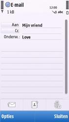 Nokia C5-03 - E-mail - e-mail versturen - Stap 7