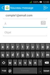 """Alcatel Pixi 3 - 3.5"""" - E-mail - envoyer un e-mail - Étape 4"""