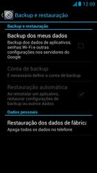 Huawei Ascend G510 - Funções básicas - Como restaurar as configurações originais do seu aparelho - Etapa 7