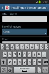 Samsung Galaxy Fame Lite (S6790) - E-mail - Account instellen (IMAP met SMTP-verificatie) - Stap 9