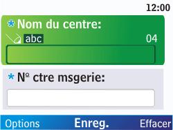 Nokia C3-00 - SMS - Configuration manuelle - Étape 8