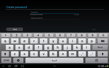 Samsung N8000 Galaxy Note 10-1 - Applications - Downloading applications - Step 8