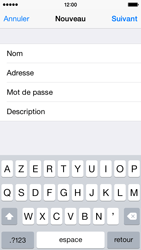 Apple iPhone 5c iOS 8 - E-mail - Configuration manuelle - Étape 9