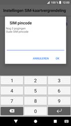 Sony xperia-xa1-g3121-android-oreo - Beveiliging en ouderlijk toezicht - Hoe wijzig ik mijn SIM PIN-code - Stap 7