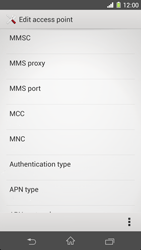 Sony C6903 Xperia Z1 - MMS - Manual configuration - Step 13