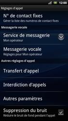 Sony Ericsson Xperia Arc S - Messagerie vocale - configuration manuelle - Étape 6