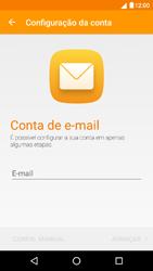 NOS Dive 72 - Email - Configurar a conta de Email -  6