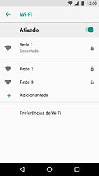 Motorola Moto X4 - Wi-Fi - Como configurar uma rede wi fi - Etapa 9