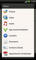HTC T328e Desire X - E-mail - Sending emails - Step 10