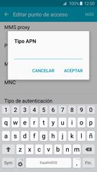 Samsung Galaxy S6 - Mensajería - Configurar el equipo para mensajes multimedia - Paso 12