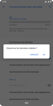 Nokia 9 - Internet - activer ou désactiver - Étape 7