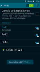 Samsung G850F Galaxy Alpha - WiFi - Conectarse a una red WiFi - Paso 8