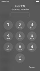Apple iPhone 5s - iOS 11 - Primeiros passos - Como ligar o telemóvel pela primeira vez -  5