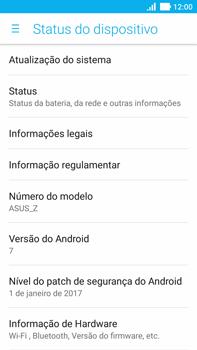 Asus Zenfone 3 - Primeiros passos - Como encontrar o número de IMEI do seu aparelho - Etapa 5
