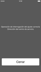 Apple iPhone 6s iOS 9 - Mensajería - Configurar el equipo para mensajes de texto - Paso 4