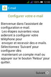 Alcatel Pixi 3 Dual Sim - E-mails - Ajouter ou modifier un compte e-mail - Étape 4