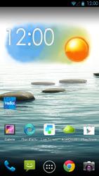 Acer Liquid S1 - Internet - Navigation sur internet - Étape 1