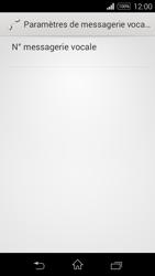 Sony Xperia E3 - Messagerie vocale - configuration manuelle - Étape 8
