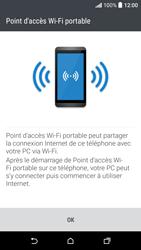 HTC Desire 530 - Internet et connexion - Partager votre connexion en Wi-Fi - Étape 8