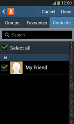 Samsung Galaxy Core Plus - Email - Sending an email message - Step 7
