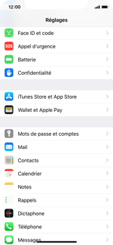 Apple iPhone X - iOS 12 - E-mail - Configuration manuelle (yahoo) - Étape 3
