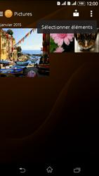 Sony Xperia E4g - Photos, vidéos, musique - Envoyer une photo via Bluetooth - Étape 8