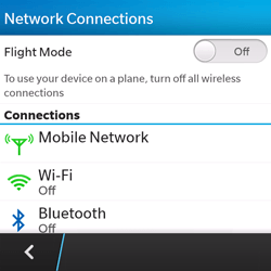 BlackBerry Q5 - WiFi and Bluetooth - Manual configuration - Step 5