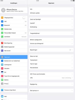 Apple iPad Pro 12.9 inch (Model A1671) - Beveiliging en ouderlijk toezicht - Hoe wijzig ik mijn SIM PIN-code - Stap 3