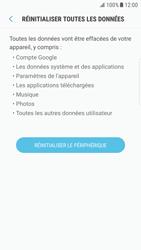 Samsung Galaxy S6 Edge - Android Nougat - Device maintenance - Retour aux réglages usine - Étape 8