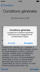 Apple iPhone 5c (iOS 8) - Premiers pas - Créer un compte - Étape 31