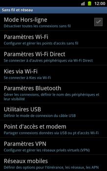 Samsung N7000 Galaxy Note - Internet - activer ou désactiver - Étape 5