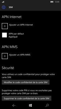 Microsoft Lumia 950 XL - MMS - configuration manuelle - Étape 8
