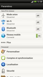 HTC One S - Internet et connexion - Partager votre connexion en Wi-Fi - Étape 4