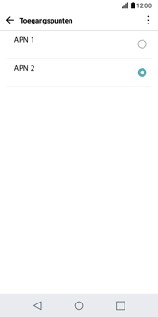 LG G6 H870 - Internet - Handmatig instellen - Stap 18