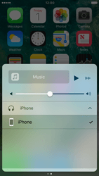 Apple iPhone 6 iOS 10 - iOS features - Control Centre - Step 10
