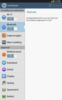Samsung T315 Galaxy Tab 3 8-0 LTE - Bluetooth - Aanzetten - Stap 4