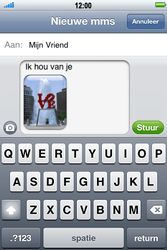 Apple iPhone 4S - MMS - hoe te versturen - Stap 11