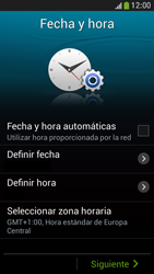 Samsung Galaxy S4 Mini - Primeros pasos - Activar el equipo - Paso 8
