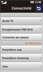 LG GD900 Crystal - Internet - Configuration manuelle - Étape 12