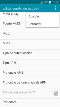 Samsung N910F Galaxy Note 4 - Mensajería - Configurar el equipo para mensajes multimedia - Paso 15