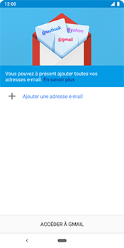 Google Pixel 3 - E-mail - 032c. Email wizard - Outlook - Étape 5