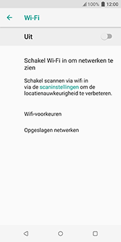 HTC u12-plus-2q55200 - WiFi - Handmatig instellen - Stap 6