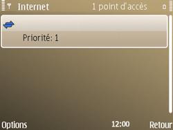 Nokia E72 - Internet - configuration manuelle - Étape 15