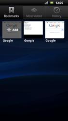 Sony Ericsson Xperia Neo - Internet - Internet browsing - Step 7
