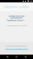 Fairphone Fairphone 2 - Software updaten - Update installeren - Stap 5